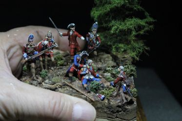 28mm -1755 - The death of Braddock !
